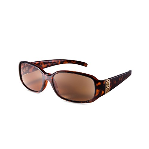 EYEGUARD Outdoor Reading Sunglasses Elegant Womens Readers Glasses-Not Bifocals