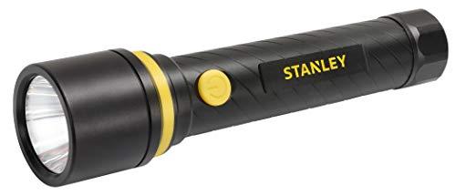 STANLEY 65399 - Torche Led Aluminium - Portée 200m - 350 lumen - 3 modes d'intensités - Noir