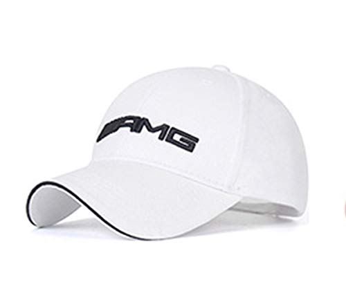 Gorra Compatible con AMG Color Blanco