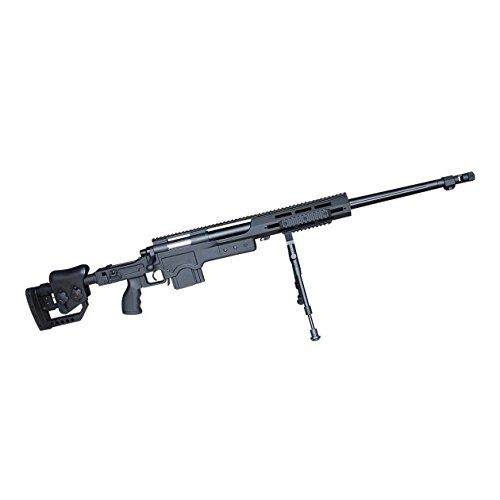 g8ds® Sport Softair Pistole Scharfschützen Gewehr Federdruck Sniper unter 0,5 Joule unter 0,5 Joule 6mm Waffe ab 14 Jahren freigegeben 7667