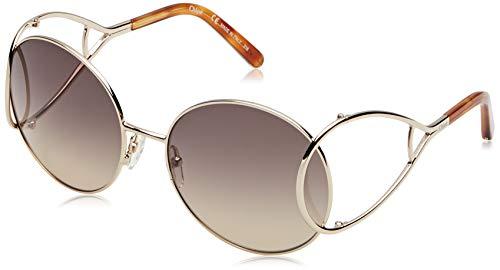 Chloé CE124S 736 60 Gafas de sol, Gold/Blonde Havana, Mujer