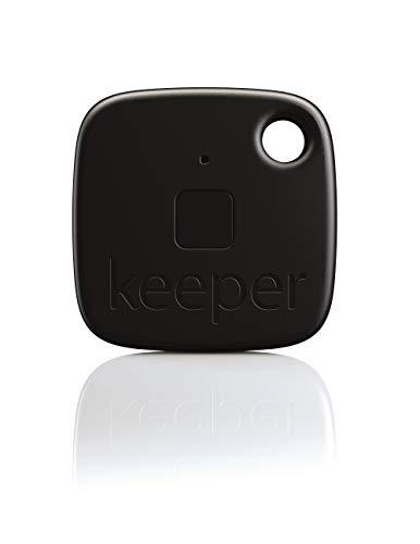 Gigaset Keeper Solo Porte-clés connecté avec Alertes sonores/lumineuses Bluetooth 4.0 Noir