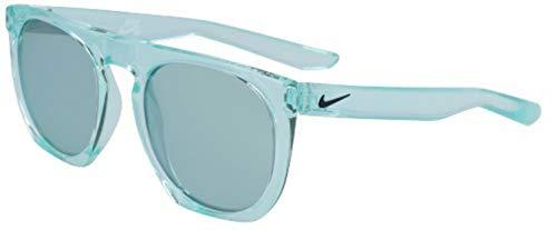 Nike EV1045-344 Flatspot M Gafas de sol Igloo color marco, azul con lente de espejo súper azul tinte