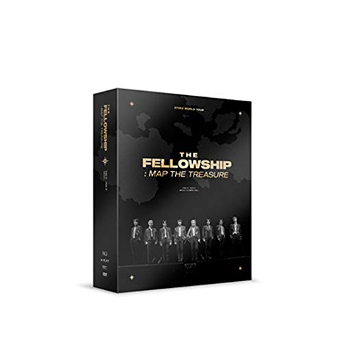 ATEEZ World Tour [The Fellowship : MAP The Treasure Seoul Concert DVD (Incl. Random Transparent Photocard Set)