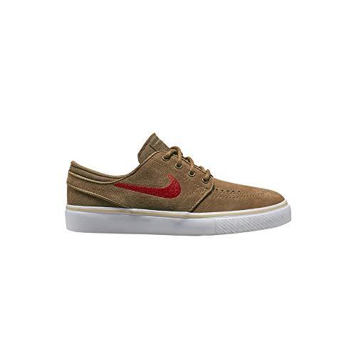 Nike SB Stefan Janoski Zapatillas de skate para niño, color Marrón, talla 37.5 EU