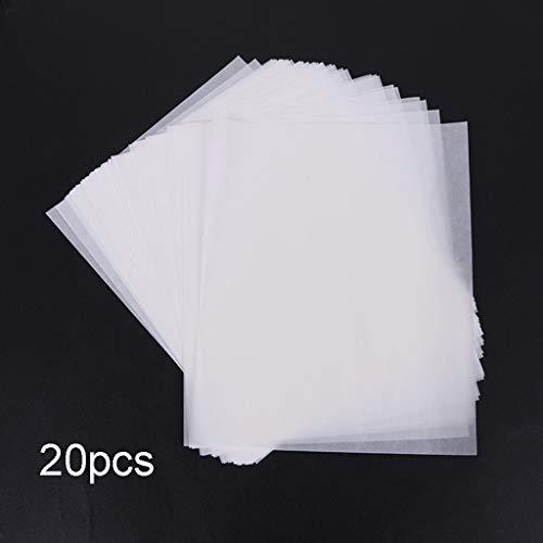 E-HONER Puzzle Saver Peel Hojas de Pegamento para Rompecabezas Grandes y Transparentes Puzzle Preserver 20 Hojas