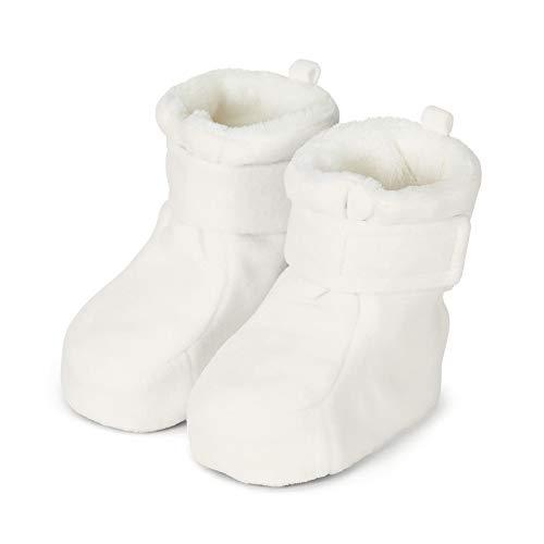 Sterntaler Jungen Baby Stiefel mit Klettverschluss, Farbe: Ecru, Größe: 19/20, Alter: 12-18 Monate, Artikel-Nr.: 5101616