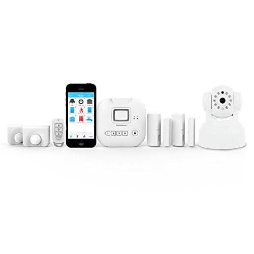 Skylink SK-250 Alarm Camera Deluxe Connected Wireless Security Home Automation System, iOS iPhone...
