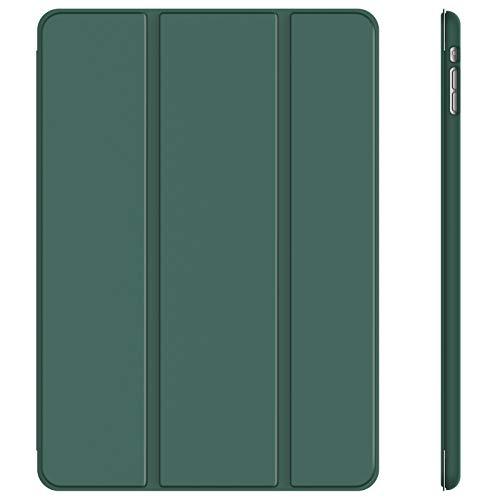 JETech Hülle Kompatibel iPad Mini 1 2 3, Schutzhülle mit Ständer Funktion & Auto Einschlafen/Aufwachen, Neblig Blau