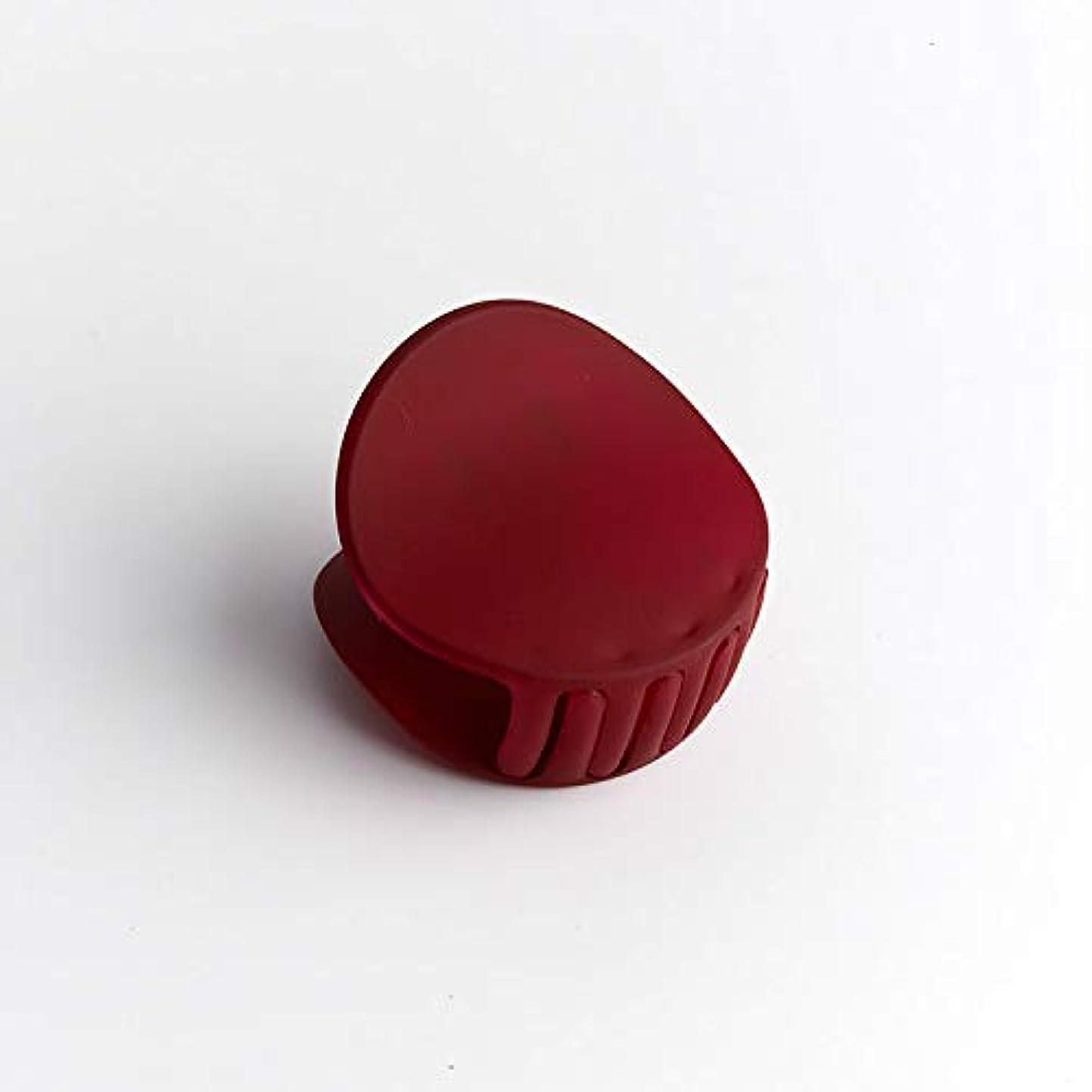 アナニバー矢じりフィラデルフィアHuaQingPiJu-JP 1Pc DIYマジックヘア女性の女の子ヘアピンヘアマットテクスチャクリップパーティーヘアスタイルツールアクセサリー(赤)