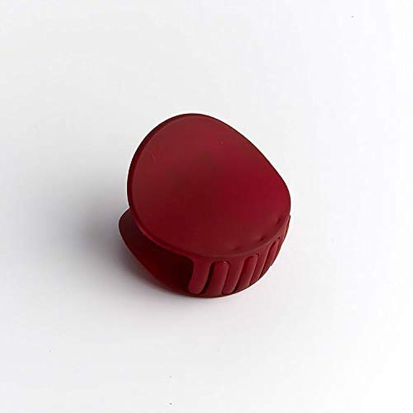 恥ずかしい鑑定実験的HuaQingPiJu-JP 1Pc DIYマジックヘア女性の女の子ヘアピンヘアマットテクスチャクリップパーティーヘアスタイルツールアクセサリー(赤)