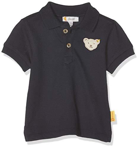 Steiff Steiff Baby-Jungen Poloshirt, Blau (Black Iris 3032), 74