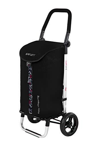 CARLETT 1 Einkaufstrolley LETT 201, neue Kollektion 2020, schwarz