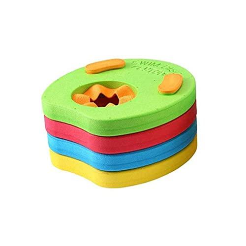 ABCDJHH 4 Piezas de Discos de Flotador para Brazos para niños Eva, Discos de natación, Juego de Brazalete de natación para Piscina para niños, Juego de Discos de Ayuda a la natación para niños