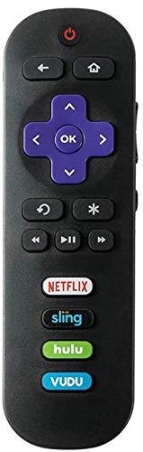 Mando a distancia de repuesto para JVC Roku TV LT-32MAW388 LT-40MAB588 LT-43MAW588 LT-49MAW598 LT-50MAW595 LT-65MAW595