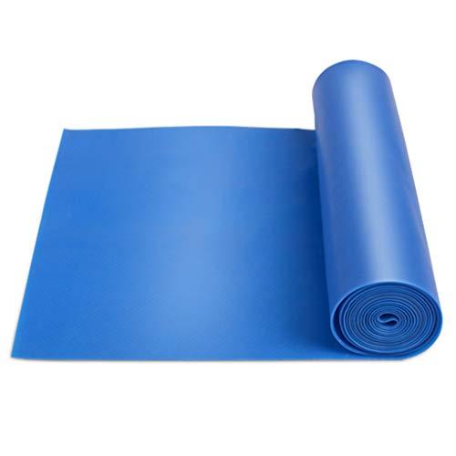 KKCD Widerstandsbänder Pull-ups Widerstand Bands Elastischer Gürtel Fitness Männer Und Frauen Flache Gummiband Krafttraining Stretch (Farbe : Blau, größe : 2000mm)