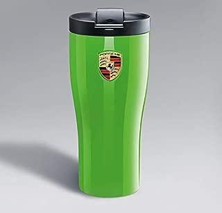 Genuine Porsche Thermal Travel Mug - Lizard Green