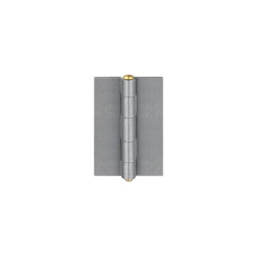 Anschweißscharnier für Stahlfenster, 95 x 65 x 3 mm, Stahl blank ; 1 Stück