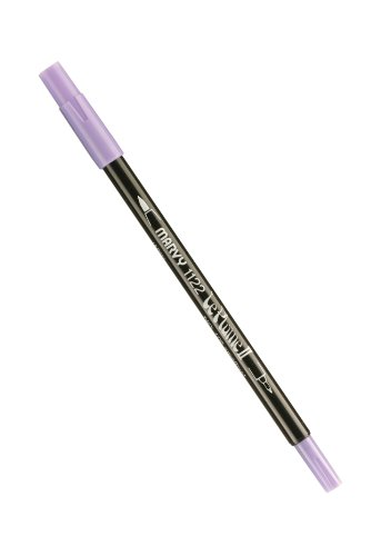 Uchida 1122-C-106 Marvy Le Plume II Watercolor Marker Art Supplies, Amethyst