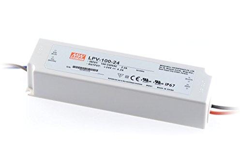 LED Fuente de alimentación 100W 24V 4,2A ; MeanWell, LPV-100-24