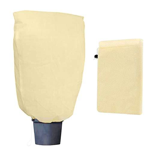 TaimeiMao Protezione Invernale Piante,Telo Protezione Piante,Telo Protezione Piante Inverno,Copertura svernamento Tessuto,Telo antigelo Piante Trasparente (180x120CM)