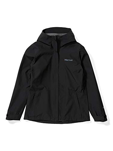 Marmot Damen, Wm\'s Minimalist Jacket Hardshell Regenjacke, wasserdicht, winddicht & atmungsaktiv, Black (neu), M