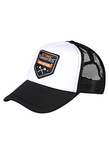 Stihl Trucker Cap, schwarz, Weiss, one Size