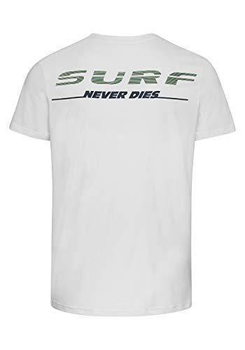 Chiemsee Herren T-Shirt, Star White, L