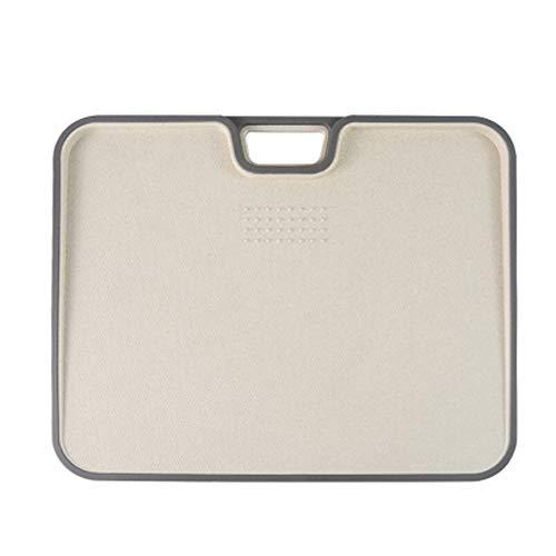まな板 抗菌まな板 こぼれにくいフチ付き多機能まな板 両面使えて 耐熱 食洗機対応 家庭用 アウトドアに適用する(34×27.5×1.5cm)