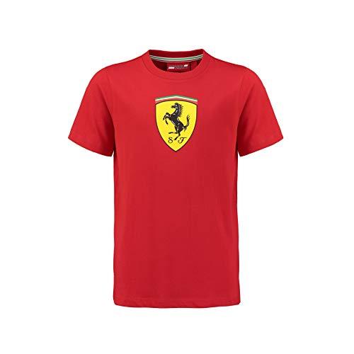 Camiseta oficial 2018 Ferrari para niños de 1 a 14 años