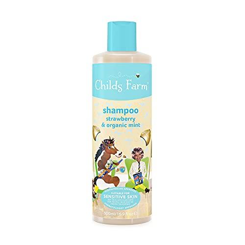 Childs Farm Children's Shampoo Strawberry & Organic Mint, 500ml