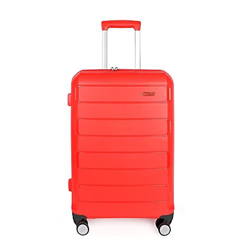Amazon Brand - Eono Expandable Hand Luggage Hard Shell Polypropylene...