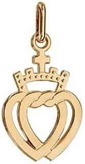 Pendentif plaqu/é or symbole vend/ée 1001 Bijoux