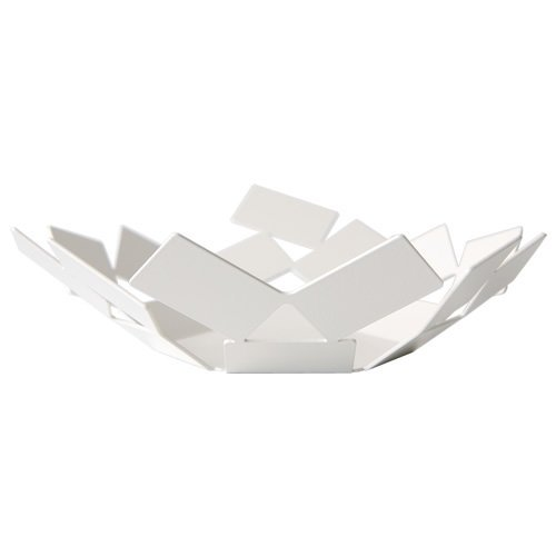 Alessi MT01 W - Cesta, color blanco