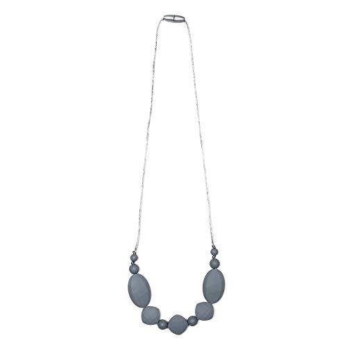 Price comparison product image Goobie Baby Luna Silicone Teething Necklace for Mom to Wear,  Nursing Necklace Chew Bead