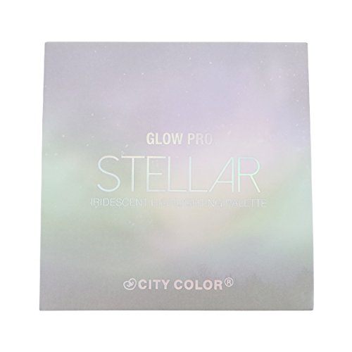 CITY COLOR Glow Pro Stellar Iridescent Highlighting Palette