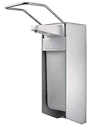 fangsanxi Wandspender aus Aluminium Ausführung 500ml, inkl. Edelstahlpumpe, Universalspender, Seifen- und Desinfektionsspender der Firma (1)