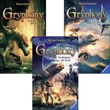 Michael Peinkofer Gryphony als Taschenbuch im Set (2. Der Bund der Drachen + 3. Der Fluch der Drachenritter + 4. Die Rückkehr der Greife)