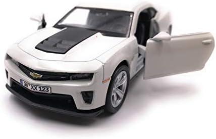 Onwomania Modellauto Mit Wunschkennzeichen Camaro Zl1 Muscle Car Beige Auto Maßstab 1 34 39 Lizensiert Auto