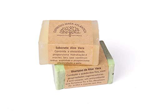 Kit Shampoo Sólido Vegano e Sabonete de Aloe Vera