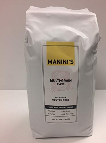 Maninis Gluten Free, Flour Multigrain, 80 Ounce