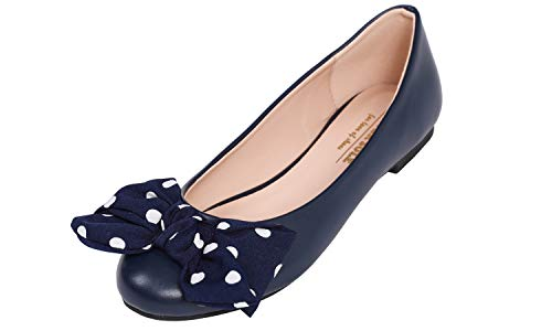 Top 10 best selling list for polka dot bow flats shoes