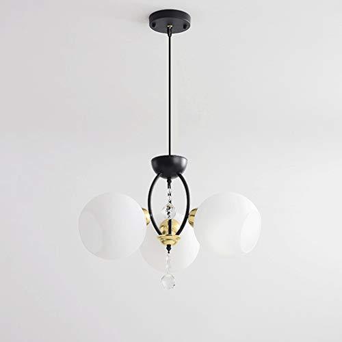 YI0877CHANG Iluminación Colgante Estilo lámpara del Dormitorio Comedor lámpara de luz Simple Inicio Luxury Living Lámpara de Habitaciones lámpara de suspensión