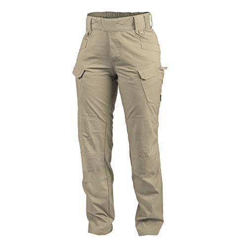 Helikon-Tex Urban Line, pantalones tácticos urbanos UTP, estilo militar, estilo cargo, para mujer, casual , W30 - L30, Caqui