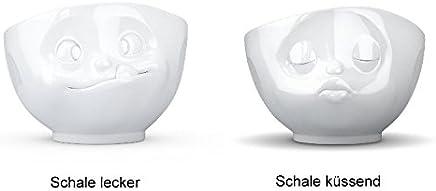 Preisvergleich für Fiftyeight Schale KÜSSEND & LECKER ca. 500ml / weiß