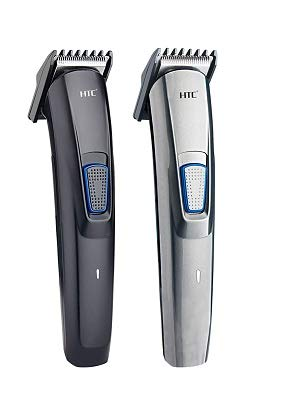 WOW CONCEPT H.T.C. AT-522 Professional Rechargeable Hair Clipper and Trimmer for Men Beard and Hair Cut (Black)