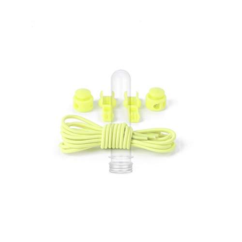 yoyosales (buy 2 got 4) hot Color elastic shoelace elastic rope belt round adult children elastic free lace lazy shoe laces 100cm