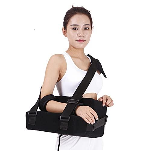Armschlinge, Verstellbare Schulter-Wegfahrsperre Zur UnterstüTzung Von Verletzungen, Rotatorenmanschettenschlinge Wegfahrsperre Mit Abduktionskissen Post-Op-Schulter-Armbandage, Universal(Size:Right)