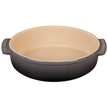 Le Creuset of America Stoneware Tapas Dish, 17-Ounce, Oyster