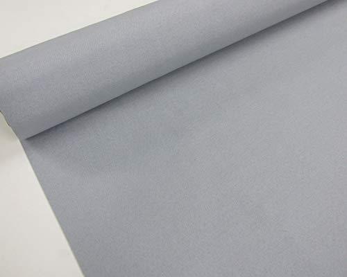 Confección Saymi Metraje 0,50 MTS Tela loneta Lisa nº 135 Gris Perla, Doble Ancho 2,80 MTS.